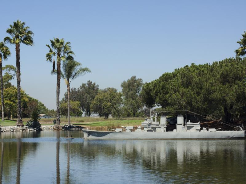 Navy Destroyer Golf Course Pic